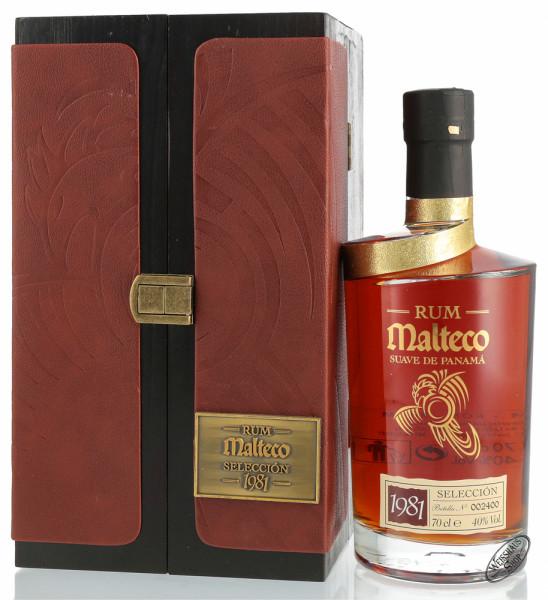 Malteco Vintage 1981 Rum 40% vol. 0,70l