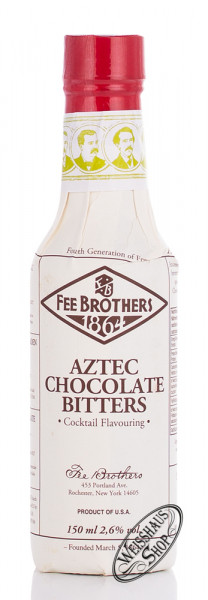 Fee Brothers Aztec Chocolate Bitters 2,6% vol. 0,15l