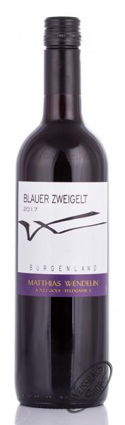 Wendelin Blauer Zweigelt 2017 13,5% vol. 0,75l