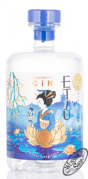 Etsu Japanese Gin 43% vol. 0,70l