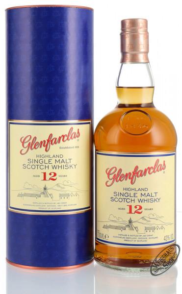 Glenfarclas 12 YO Single Malt Whisky 43% vol. 0,70l