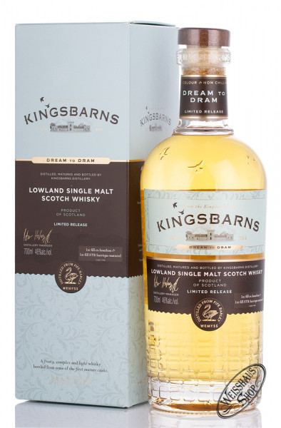 Kingsbarns Dream to Dram Whisky 46% vol. 0,70l