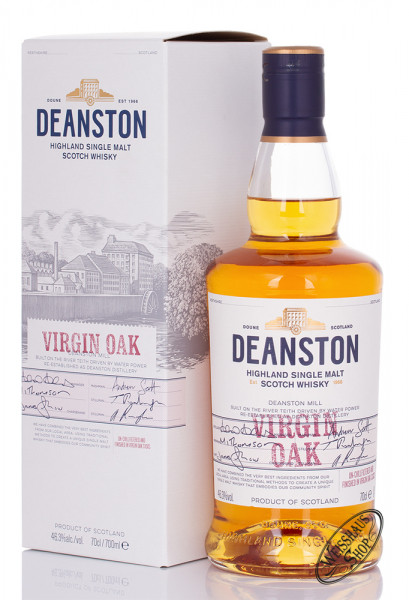 Deanston Virgin Oak Whisky 46,3% vol. 0,70l