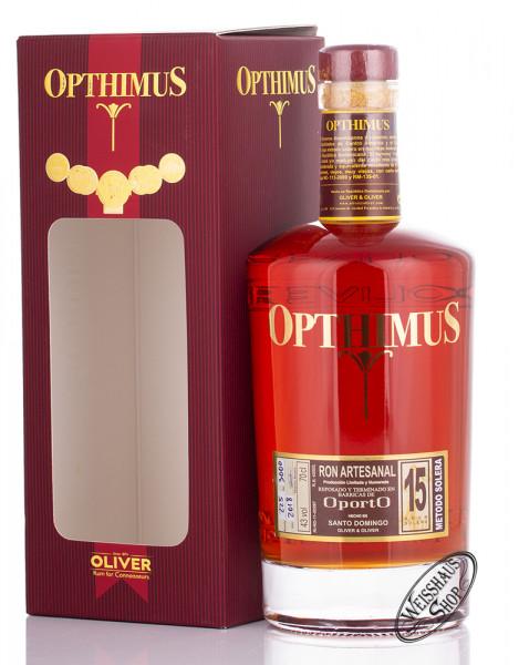 Opthimus 15 Anos Oporto Rum 43% vol. 0,70l