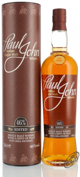 Paul John Edited Single Malt Whisky 46% vol. 0,70l