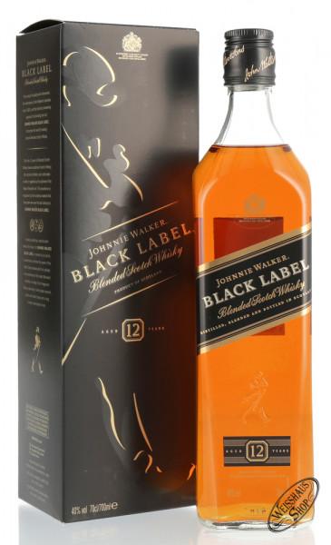Johnnie Walker Black Label Blended Scotch Whisky 40% vol. 0,70l
