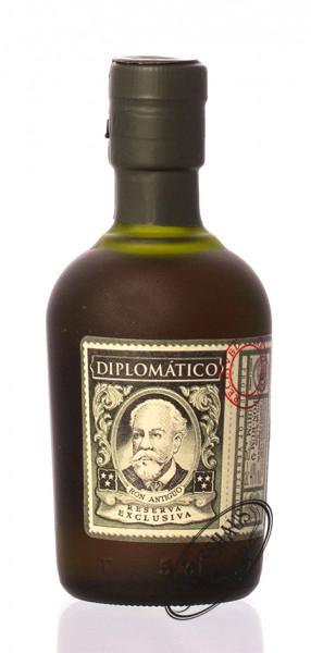 Diplomatico Reserva Exclusiva 12 YO Rum 40% vol. 0,05l Miniatur