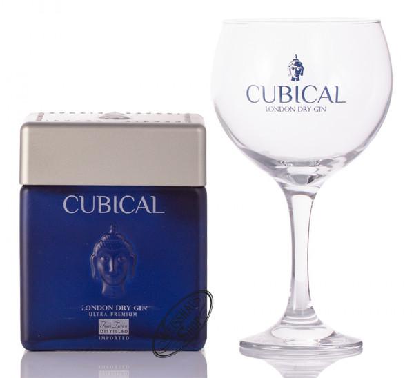 Cubical by Botanic Ultra Premium London Dry Gin Geschenk-Set 45% vol. 0,70l