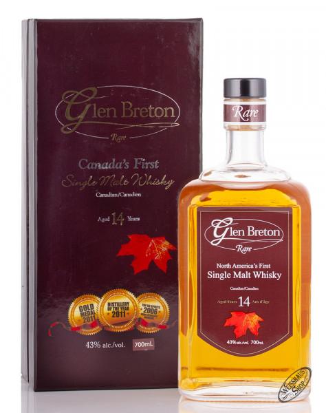 Glen Breton 14 YO Canadian Single Malt Whiskey 43% vol. 0,70l