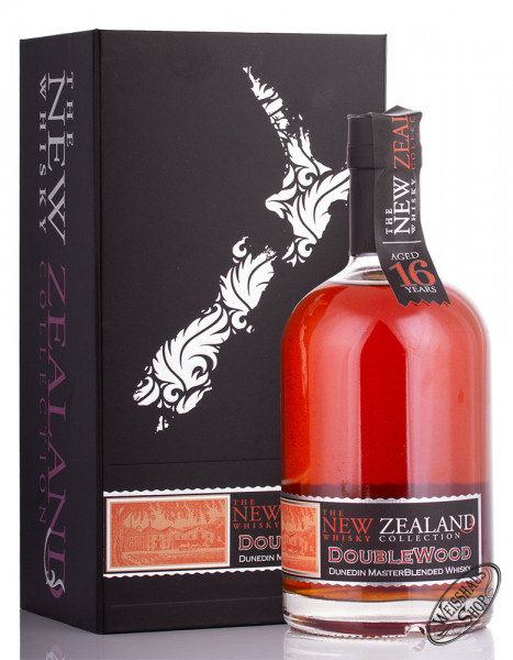 New Zealand Whisky 16 YO Doublewood Whisky 40% vol. 0,50l