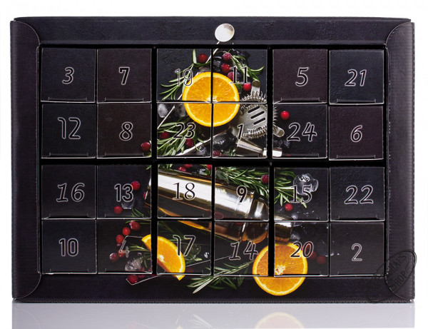 Weisshaus Gin Adventskalender 24 Gin Miniaturen
