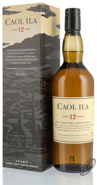 Caol Ila 12 Years Old Single Malt Whisky 43% vol. 0,70l