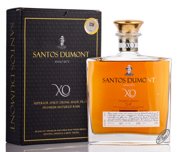 Santos Dumont XO Rum 40% vol. 0,70l
