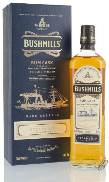 Bushmills Steamship Collection Rum Cask Reserve Irish Whiskey 40% vol. 0,70l