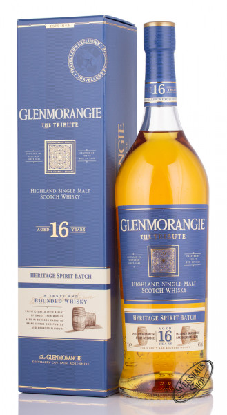 Glenmorangie 16 YO The Tribute Whisky 43% vol. 1,0l