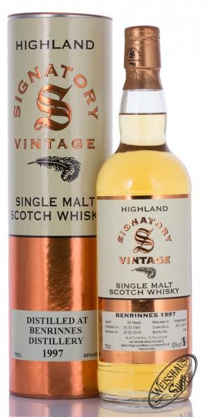 Benrinnes Vintage 1997 Signatory Whisky 43% vol. 0,70l
