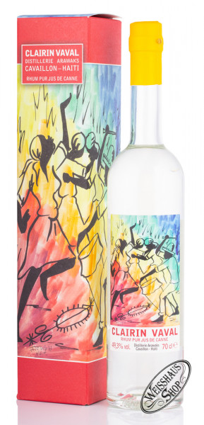 Clairin Vaval Rum 49,3% vol. 0,70l
