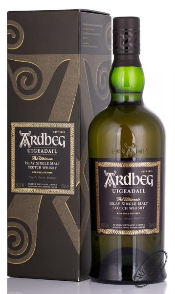 Ardbeg Uigeadail Islay Single Malt Whisky 54,2% vol. 0,70l