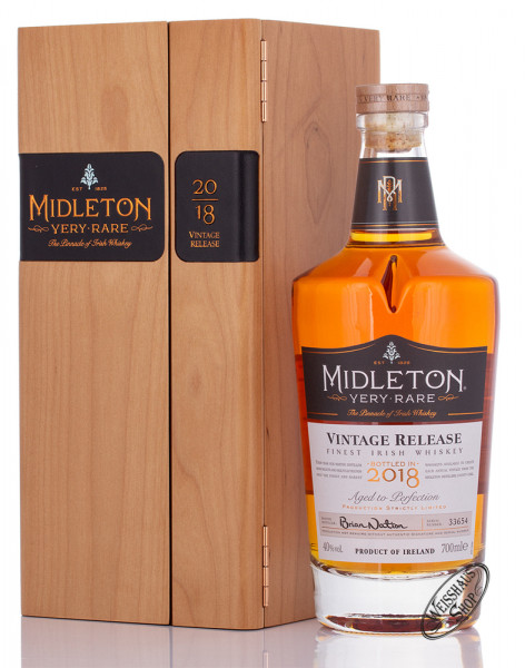 Midleton Very Rare 2018 Irish Whiskey 40% vol. 0,70l