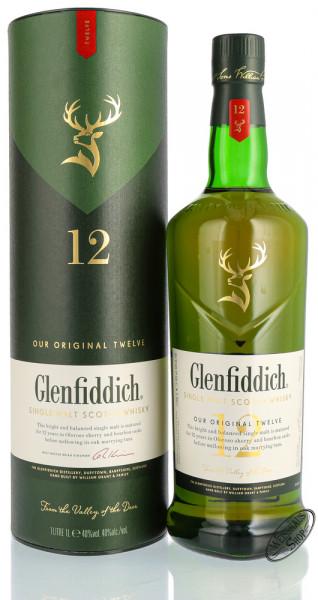 Glenfiddich 12 YO Whisky 40% vol. 0,70l