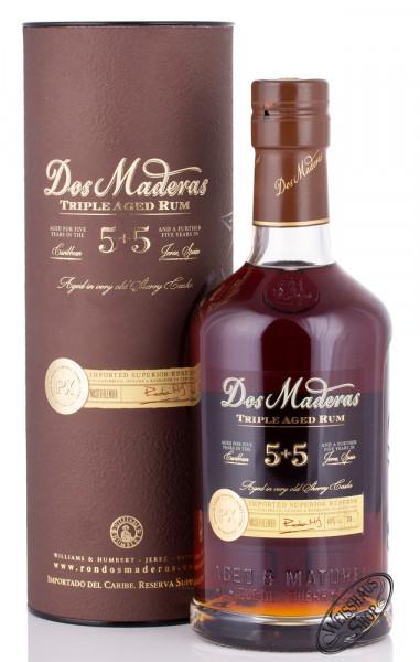 Dos Maderas PX 5 + 5 Rum 40% vol. 0,70l