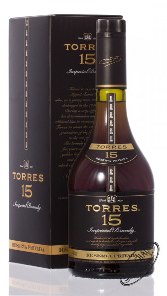 Torres 15 YO Reserva Privada Brandy 40% vol. 0,70l