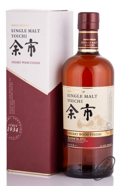 Nikka Yoichi Sherry Wood Finish Whisky 46% vol. 0,70l