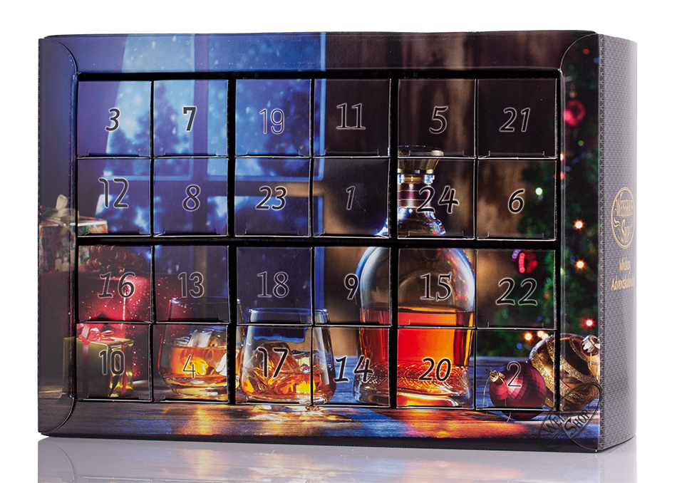 Weisshaus Whisky Adventskalender 24 x 0,04l | Weisshaus Shop