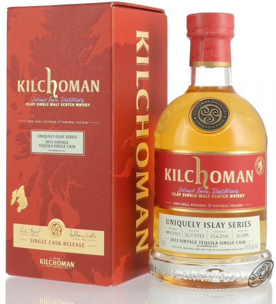 Kilchoman Vintage 2013 Tequila Cask Islay Whisky 54,5% vol. 0,70l