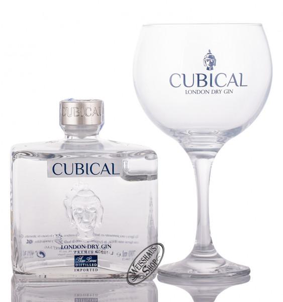 Cubical by Botanic Premium London Dry Gin Geschenk-Set 40% vol. 0,70l