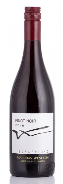 Wendelin Pinot Noir 2018 13% vol. 0,75l