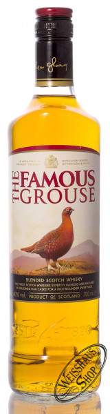 The Famous Grouse Finest Blended Scotch Whisky 40% vol. 0,70l