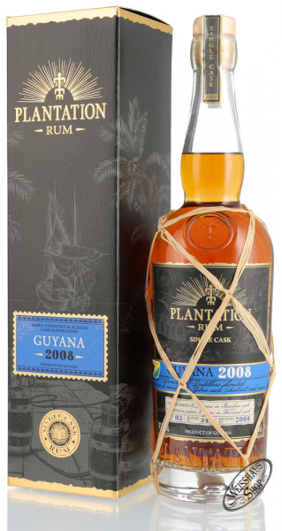 Plantation Guyana Vintage 2008 Rum Single Cask Edition 47,1% vol. 0,70l