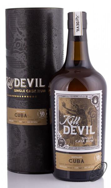 Kill Devil Cuba 18 YO Single Cask Rum 46% vol. 0,70l