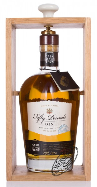 Fifty Pounds Oak Cask Gin 43,5% vol. 0,70l
