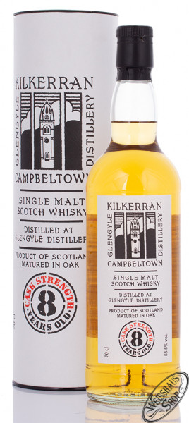 Kilkerran 8 YO Cask Strength Whisky 56,5% vol. 0,70l