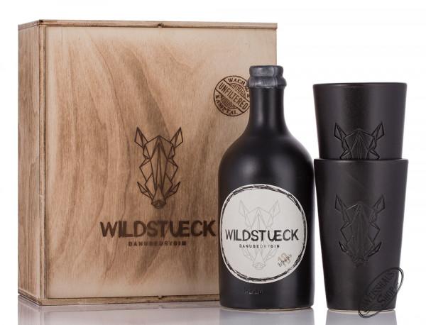 Wildstück Dry Gin Geschenk-Set 42% vol. 0,50l