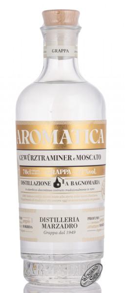 Marzadro Grappa Bivitigno Aromatica 41% vol. 0,70l
