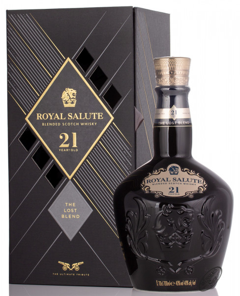 Chivas Regal Royal Salute The Lost Blend 21 YO Whisky 40% vol. 0,70l
