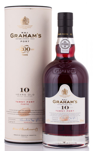 Graham's 10 YO Tawny Port 20% vol. 0,75l