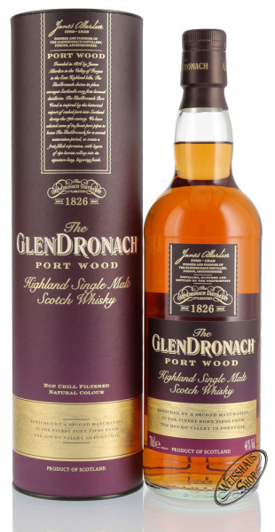 Glendronach Port Wood Whisky 46% vol. 0,70l