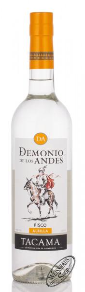 Demonio de los Andes Pisco Albilla 40% vol. 0,70l