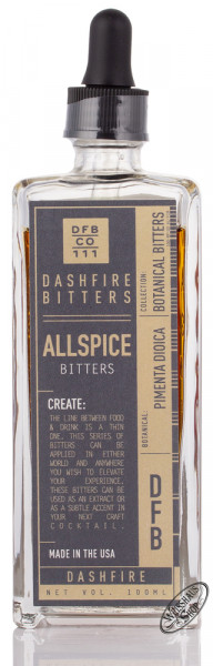 Dashfire Allspice Bitters 38% vol. 0,10l