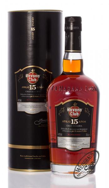 Havana Club Anejo 15 Anos Rum 40% vol. 0,70l