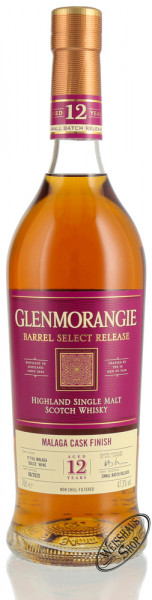 Glenmorangie 12 YO Malaga Cask Finish Whisky 47,3% vol. 0,70l