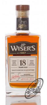 J.P. Wiser's 18 YO Canadian Whisky 40% vol. 0,70l