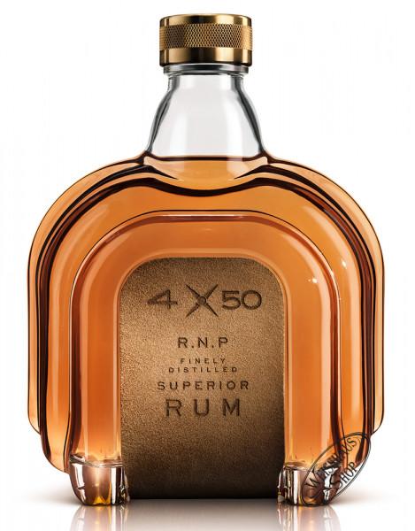 4X50 R.N.P. Finely Distilled Superior Rum 40,5% vol. 0,70l