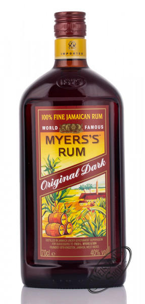Myers's Original Dark Rum 40% vol. 0,70l