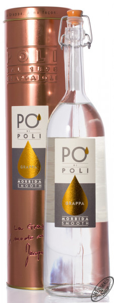 Poli Grappa Moscato Morbida in Tubo 40% vol. 0,70l