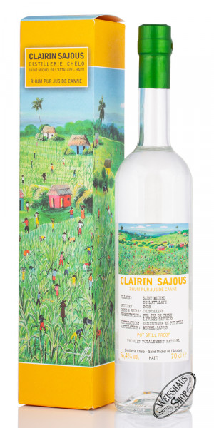 Clairin Sajous Rum 56,4% vol. 0,70l